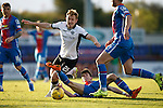 Inverness Caledonian Thistle v St Johnstone...24.10.15  SPFL  Tulloch Stadium, Inverness<br /> Ryan Christie and Liam Craig<br /> Picture by Graeme Hart.<br /> Copyright Perthshire Picture Agency<br /> Tel: 01738 623350  Mobile: 07990 594431