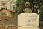 Israel, Negev, Ataturk statue in Be'er Sheva