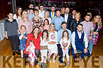 Baby Sofia Duffin from Tralee christening party in the Grand Hotel on Saturday.<br /> L to r: Jodie O'Shea (GM), Fiadh, Leah, Mary, Garrett and Ava Duffin and Brendan Duffin (GF).