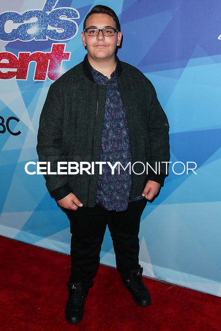 HOLLYWOOD, LOS ANGELES, CA, USA - AUGUST 15: Christian Guardino arrives at NBC's 'America's Got Talent' Season 12 Live Show held at Dolby Theatre on August 15, 2017 in Hollywood, Los Angeles, California, United States. (Photo by Xavier Collin/Celebrity Monitor)