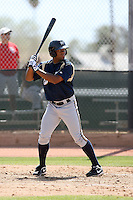 D'Vontrey Richardson, Milwaukee Brewers 2010 minor league spring training..Photo by:  Bill Mitchell/Four Seam Images.