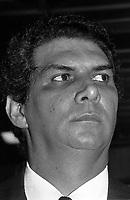 Jader Barbalho 15/03/91<br />Foto: Geraldo Ramos/ Interfoto