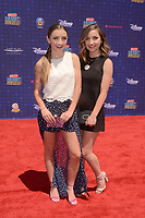 LOS ANGELES - APR 29:  Brooklyn McKnight, Bailey McKnight at the 2017 Radio Disney Music Awards at the Microsoft Theater on April 29, 2017 in Los Angeles, CA