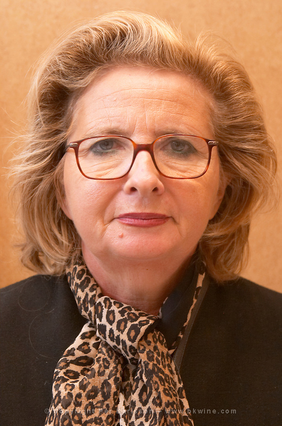 Marie Cecile Miailhe-Vicaire of the family owning Chateau Coufran, Medoc, Bordeaux, France
