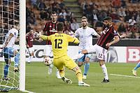 gol Mateo Musacchio Milan Goal celebration <br /> Milano 28-09-2017 Stadio Giuseppe Meazza Football Europa League 2017/2018 Group D Milan - Rijeka Foto Image/Insidefoto