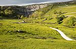 Malham Cove, Yorkshire Dales national park, England, UK
