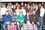Lily and Con Counihan Sunhill, Killorglin seated centre celebrates their 50th wedding anniversary with their family and friends in Top Deck restaurant, Killorglin on Saturday night