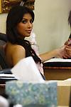 2-24-09.Kim Kardashian getting her nails done at Quest Diagnostics in Beverly Hills ca ...AbilityFilms@yahoo.com.805-427-3519.www.AbilityFilms.com.
