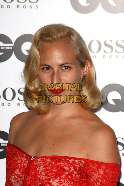 LONDON, ENGLAND - SEPTEMBER 02 :   Charlotte Dellal arrives at the GQ Men Of The Year 2014 at The Royal Opera House on September 02, 2014 in London, England.<br /> CAP/AH<br /> &copy;Adam Houghton/Capital Pictures
