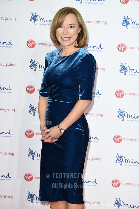 Sian Williams at the Virgin Money Giving Mind Media Awards at the Odeon Leicester Square, London, UK. <br /> 13 November  2017<br /> Picture: Steve Vas/Featureflash/SilverHub 0208 004 5359 sales@silverhubmedia.com