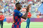 Presentation 1st team FC Barcelona 2019/2020.<br /> Ousmane Dembele.
