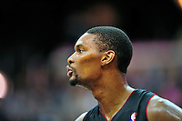 Chris Bosh of the Heat. Miami defeated Washington 106-89 at the Verizon Center in Washington, D.C. on Friday, February 10, 2012. Alan P. Santos/DC Sports Box