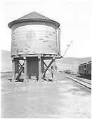 D&amp;RGW Sargent water tank.<br /> D&amp;RGW  Sargent, CO  Taken by Rogers, Donald E. A. - 6/2/1939