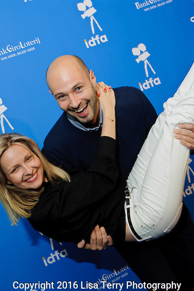 "Wojciech Kasperski (filmmaker ""Icon""), Marieta Zukowska (wife)"