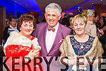 Catherine O'Sullivan (Knocknagree) Noel Cunningham and Eileen O'Riordan (Glenflesk), pictured at Christmas in Killarney Fashion Show held in the Aghadoe Heights Hotel, Killarney on Thursday last.
