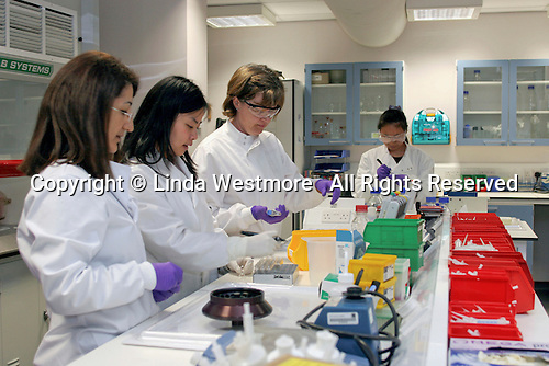Oncology research laboratory