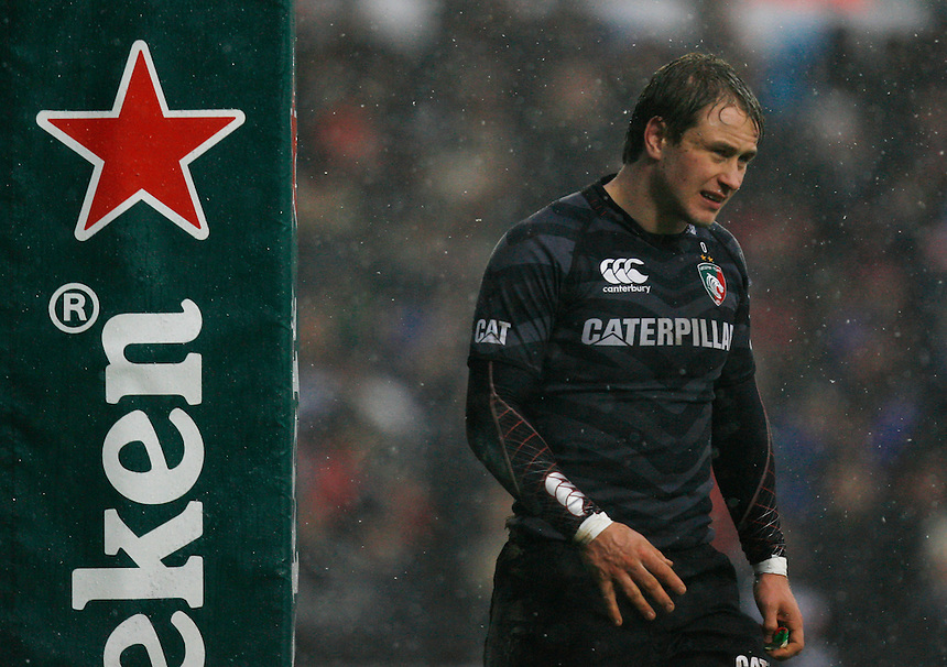 Leicester Tigers's Mathew Tait . - Credit - CameraSport - Jack Phillips - ..Rugby Union - Heineken Cup Pool 2 - Leicester Tigers v Toulouse - Sunday 20th January 2013 - Welford Road Leicester....