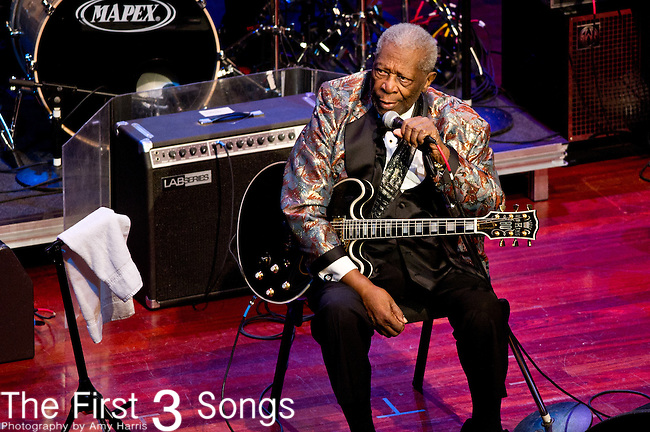 B.B. King performs at The Palladium in Carmel, Indiana.