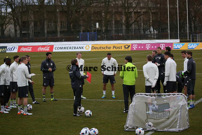 - Training der Deutschen Nationalmannschaft, Wurfplatz Berlin