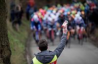 roadside refreshments<br /> <br /> 72nd Kuurne-Brussel-Kuurne 2020 (1.Pro)<br /> Kuurne to Kuurne (BEL): 201km<br /> <br /> ©kramon