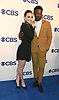 Violett Beane and Brandon Michael Hall from &quot;God Friended Me&quot; attends the CBS Upfront 2018-2019 at The Plaza Hotel in New York, New York, USA on May 16, 2018.<br /> <br /> photo by Robin Platzer/Twin Images<br />  <br /> phone number 212-935-0770