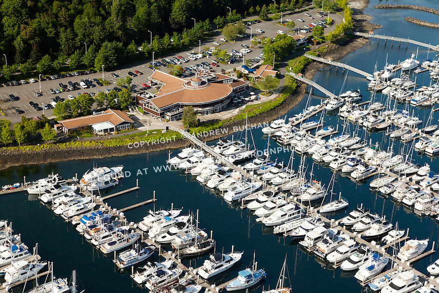 Elliott Bay Marina on Seattle's Elliott Bay; Seattle, WA