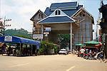 THAI-BURMA BRIDGE CROSSING:<br /> FRIENDSHIP BRIDGE CONNECTING THAILAND & MYANMAR (Burma)