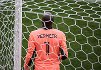 LOS ANGELES, CA - MARCH 01: GK Kenneth Vermeer #1 of LAFC during a game between Inter Miami CF and Los Angeles FC at Banc of California Stadium on March 01, 2020 in Los Angeles, California.