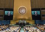 72 General Debate &ndash; 22 September <br /> <br /> <br /> <br /> Algerian Minister for Foreign Affairs, Ramtane Lamamra