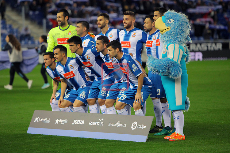 League Santander 2016/2017. Game: 13.<br /> RCD Espanyol vs CD Leganes: 3-0.