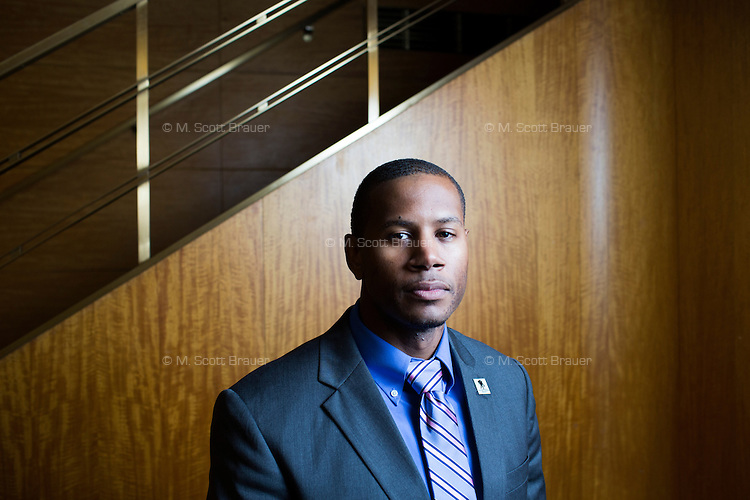 Shevon Morrison, 32, a Navy veteran from Westchester, New York, met with a number of employers including Uber, the Boston Fire Department, and Bank of America, at the Recovering Warrior Employment Conference at the Back Bay Event Center in Boston, Massachusetts, USA. Morrison said that the Boston Fire Department job opportunities sounded the most promising because they most closely matched his technical skills. The employment conference was organized by Hiring Our Heroes and Wounded Warrior Project. Hiring Our Heroes is an initiative of the US Chamber of Commerce Foundation. Approximately 40 veterans registered for the event, during which they had interviews with a number of different regional and national employers, including GE, Bank of America, Uber, and others.