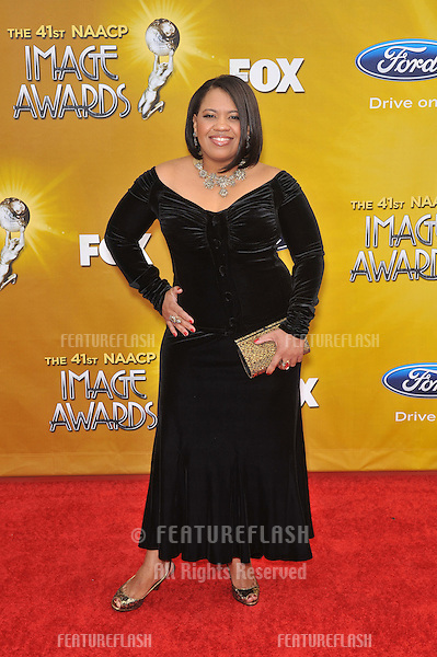 Chandra Wilson at the 41st Annual NAACP Image Awards at the Shrine Auditorium..February 26, 2010  Los Angeles, CA.Picture: Paul Smith / Featureflash