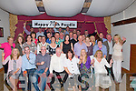 CROWDS: half of Kilflynn showed up to celebrate Paudie Fuller's 70th Birthday in Herberts Bar, Kilflynn on Sunday night also whith paudie were his family and friends.(Paudfie seated centre).......