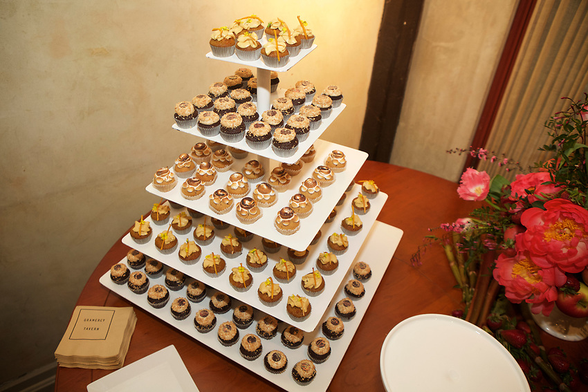 NEW YORK, NY - April 23, 2017:  Gramercy Tavern Pastry Chef Miro Uskokovic hosts Sweets and Sips, a gathering of the dessert community.<br /> <br /> Credit: Clay Williams for Union Square Hospitality Group.<br /> <br /> &copy; Clay Williams / http://claywilliamsphoto.com
