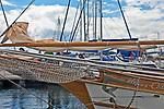 Ekomarina - największy na Mazurach nowoczesny port pasażerski i jachtowy nad jez. Niegocin. Giżycko