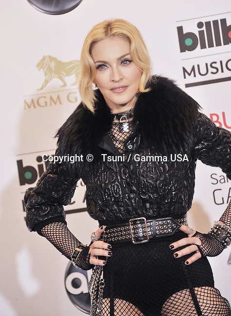 Madonna  Press Room at the Billboard Music Aw. 2013 at the MGM Grand In Las Vegas.