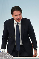 Italian Prime Minister Giuseppe Conte<br /> Roma 24/07/2018. Conferenza stampa al termine del Consiglio dei Ministri.<br /> Rome 24th of July. Press conference at the end of Ministers Cabinet .<br /> Foto Samantha Zucchi Insidefoto