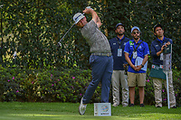 Chez Reavie (USA) watches his tee shot on 12 during round 2 of the World Golf Championships, Mexico, Club De Golf Chapultepec, Mexico City, Mexico. 2/22/2019.<br /> Picture: Golffile | Ken Murray<br /> <br /> <br /> All photo usage must carry mandatory copyright credit (&copy; Golffile | Ken Murray)