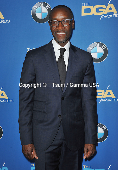 Don Cheadle  arriving at the 66th Annual DGA Awards 2014 at the Hyatt Regency Century Plaza Hotel in Century City.