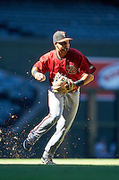 Arizona Diamondbacks Joey Rose (16) during an Instructional League game against the Oakland Athletics on October 15, 2016 at Chase Field in Phoenix, Arizona.  (Mike Janes/Four Seam Images)