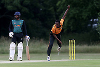 J Francis of Gidea Park during Gidea Park and Romford CC vs Harold Wood CC, Shepherd Neame Essex League Cricket at Gidea Park Sports Ground on 6th July 2019