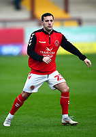 Fleetwood Town's Ross Wallace warms up<br /> <br /> Photographer Richard Martin-Roberts/CameraSport<br /> <br /> The EFL Sky Bet League One - Fleetwood Town v Doncaster Rovers - Wednesday 26th December 2018 - Highbury Stadium - Fleetwood<br /> <br /> World Copyright &not;&copy; 2018 CameraSport. All rights reserved. 43 Linden Ave. Countesthorpe. Leicester. England. LE8 5PG - Tel: +44 (0) 116 277 4147 - admin@camerasport.com - www.camerasport.com