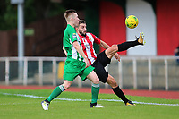 Brad Warner of Hornchurch during AFC Hornchurch vs Soham Town Rangers, Bostik League Division 1 North Football at Hornchurch Stadium on 12th August 2017