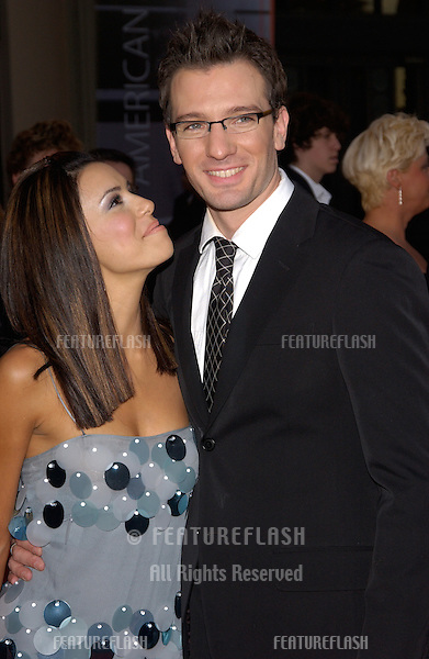 20041114: Los Angeles, CA: Actress EVA LONGORIA & boyfriend NSync star JC CHASEZ at the 32nd Annual American Music Awards at the Shrine Auditorium, Los Angeles, CA..