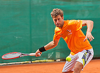 Austria, Kitzbuhel, Juli 14, 2015, Tennis, Davis Cup, Training Dutch team, Robin Haase <br /> Photo: Tennisimages/Henk Koster
