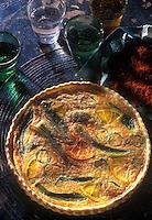 Gastronomie Générale: Tarte au piment doux, à l'orange et au paprika