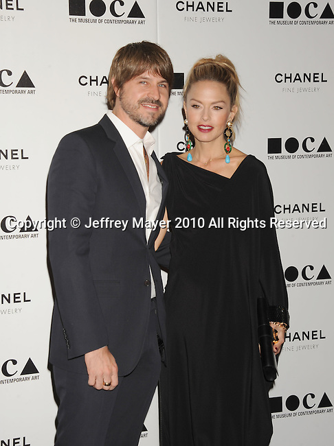 LOS ANGELES, CA. - November 13: Rachel Zoe and Rodger Berman arrives at MOCA Presents: Envisioned By Artist Doug Aitken at MOCA Grand Avenue on November 13, 2010 in Los Angeles, California.