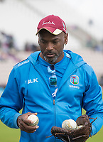 Floyd Reifer, Coach, West Indies during England vs West Indies, ICC World Cup Cricket at the Hampshire Bowl on 14th June 2019