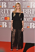 Fearne Cotton<br /> The Brit Awards at the o2 Arena, Greenwich, London, England on February 22, 2017.<br /> CAP/PL<br /> &copy;Phil Loftus/Capital Pictures /MediaPunch ***NORTH AND SOUTH AMERICAS ONLY***