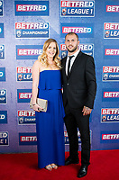 Picture by Allan McKenzie/SWpix.com - 25/09/2018 - Rugby League - Betfred Championship & League 1 Awards Dinner 2018 - The Principal Manchester- Manchester, England - Red carpet, Luke Briscoe.